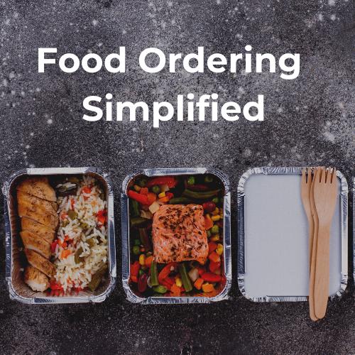 Copy of Food Ordering Simplified